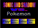 sonic and shadow vs pokemon